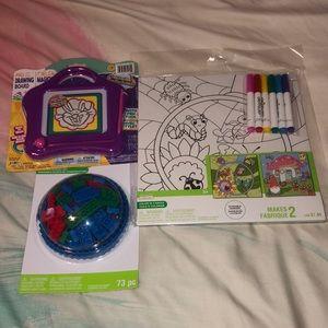 Activity Bundle 3 piece fun kids toys